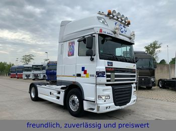 DAF XF 105 460 * SUPER SPACE CAP * KIPHYDRAULIK *  - tracteur routier