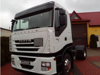 IVECO Stralis 420/ ADR / WAGA 6,360 /SPROWADZONY - tracteur routier