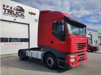 IVECO Stralis 430, Steel /Air, Manual - tracteur routier
