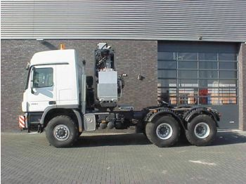Tracteur routier Mercedes-Benz 4061 SLT 6X6 TITAN HEAVY DUTY PRIME MOVERS