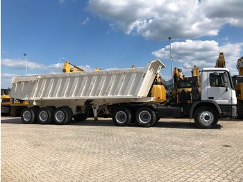 Tracteur routier Mercedes-Benz Actros 3848 6x4 with Gorica 40 cbm 3-Axle Dump Trailer