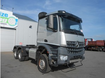 Mercedes-Benz Arocs 3345 - 6x6 - full steel/manual - EURO 6 - tracteur routier