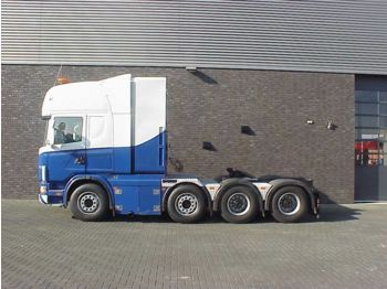 Tracteur routier Scania 164 G 580 8X4 WSK 250 TONS TRACTOR