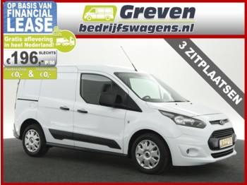 Véhicule utilitaire Ford Transit Connect 1.6 TDCI L1H1 Ambiente 3 Persoons Airco Elektrpakket Trekhaak