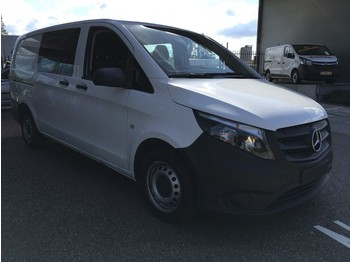 Mercedes-Benz Vito 111 CDI Lang DC Dubbel Cabine Camera/Cruise/Trekhaak - fourgon