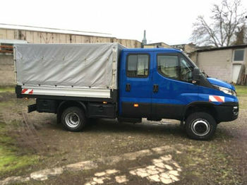 Iveco Daily 60-170 Pritsche Doppelkabine Allrad bei Ac  - fourgon plateau