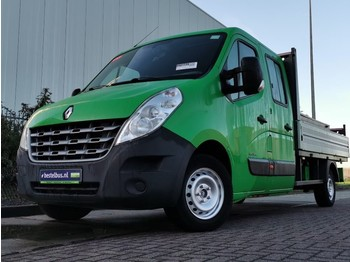 Fourgon plateau Renault Master 2.3 dci 125, dubbele cab