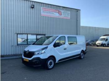 Fourgon utilitaire Renault Trafic 1.6 dCi T29 L2H1Dub Cab Airco ,Cruise,Navi,Camera,