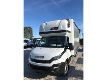 Iveco Daily 180 10PAL Schlafkabine, AHK, Tachograpf  - véhicule utilitaire plateau baché